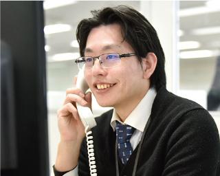 Ciメディカル カスタマーセンター責任者 谷口 大地